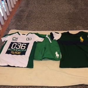 Preowned Polo Ralph boy's tops & shirt size 6